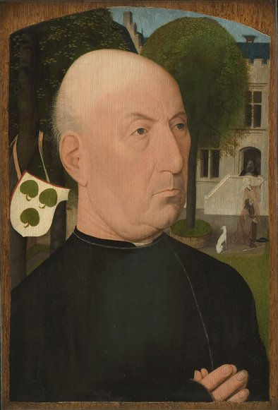 1500-49 Mostaert Devotional portrait of Jacob Jansz van der Meer Copenhagen, Statens Museum for Kunst