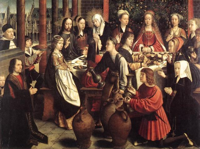 1501 ap Gerard David noces-de-cana Louvre Paris