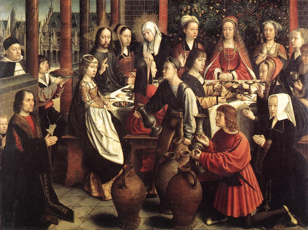 1501 ap Gerard David noces-de-cana Louvre Paris
