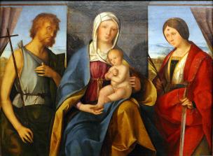 1504-05 Boccaccio Boccaccino Gemaldegalerie, Berlin