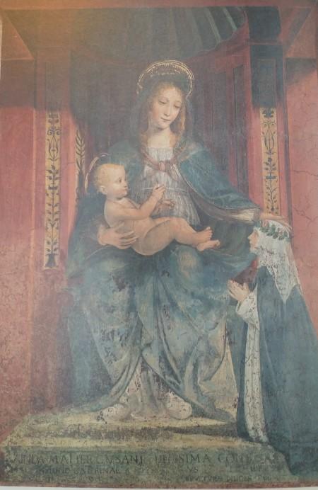 1505-15 Anonyme lombard Madonna Cusani Museo della Scienza Milan couvent dominicain Santa Maria della Purificazione