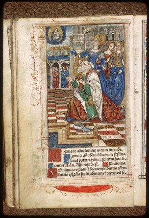 1508 Heures à l'usage de Rome Aix-en-Provence, Musee Paul-Arbaud, Res. 1028 f. c II v