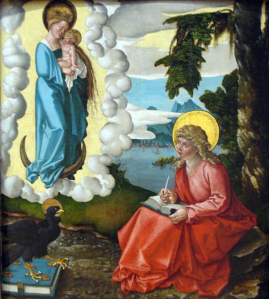 1511 ca _Baldung_Der_Heilige_Johannes_auf_Patmos_anagoria MET