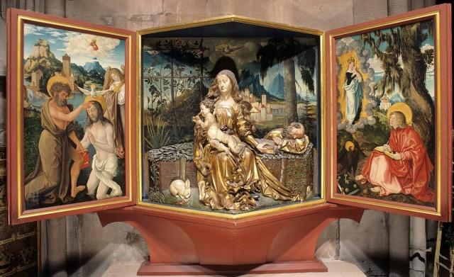 1514 et 1515 Baldung atelier schnewlin kapelle Freiburg im Breisgau