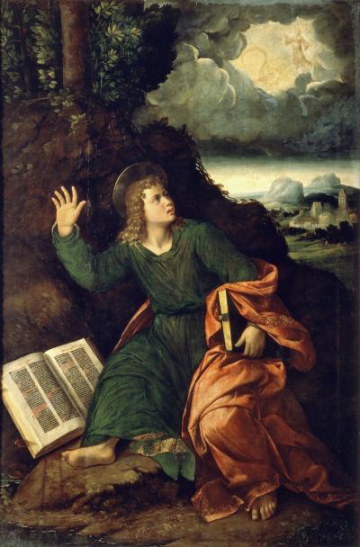 1517 Battista Dossi Pinacoteca Nazionale, Ferrara