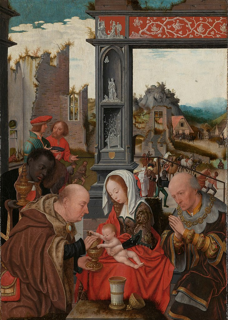 1520-25 Mostaert Adoration of the Magi Rijksmuseum