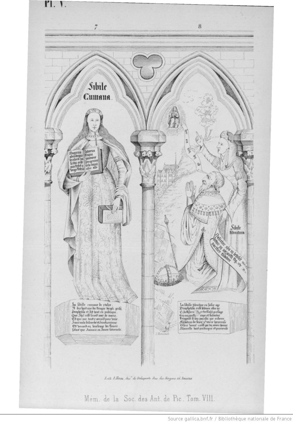 1520 Cathedrale Amiens Memoires de la Societe des Antiquaires de Picardie, tome VIII de 1845
