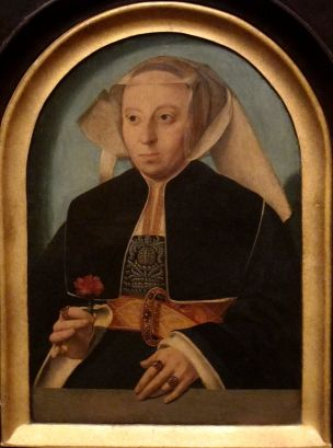 1528 Barthel_Bruyn_(I)_-_Portrait_of_Bela Bonenberg San Diego Museum of Art