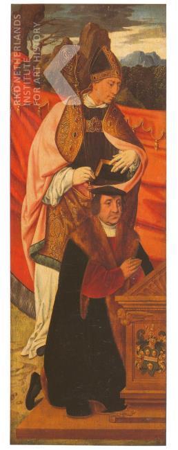 1530 Bruyn Saint Anno with donor Peter von Clapis Suermondt Museum Aachen