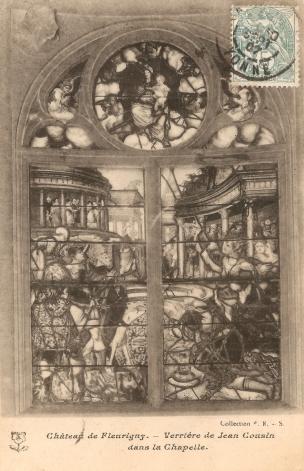1532 ca chapelle du chateau de Fleurigny