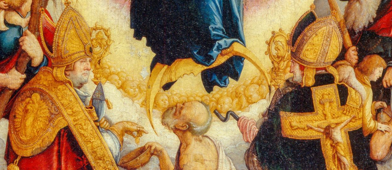 1536 Meister_von_Messkirch-Wildensteiner_Altar-Staatsgalerie Stuttgart detail