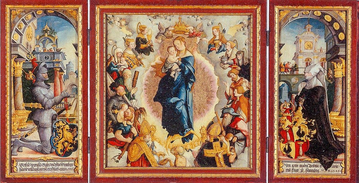 1536 Meister_von_Messkirch-Wildensteiner_Altar-Staatsgalerie Stuttgart