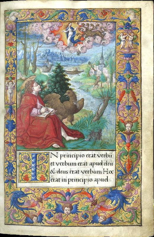 1539-1540 Heures_de_François_Ier_-_Saint_Jean_à_Patmos_(f5) MET