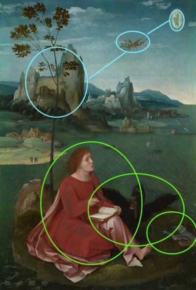 1540 Master of the Female Half-Lengths National Gallery schema
