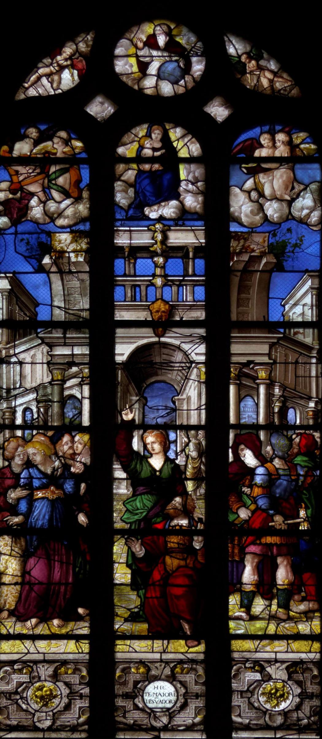 1550 ca Cathedrale Saint Etienne de Sens Photo Denis Krieger www.mesvitrauxfavoris.fr