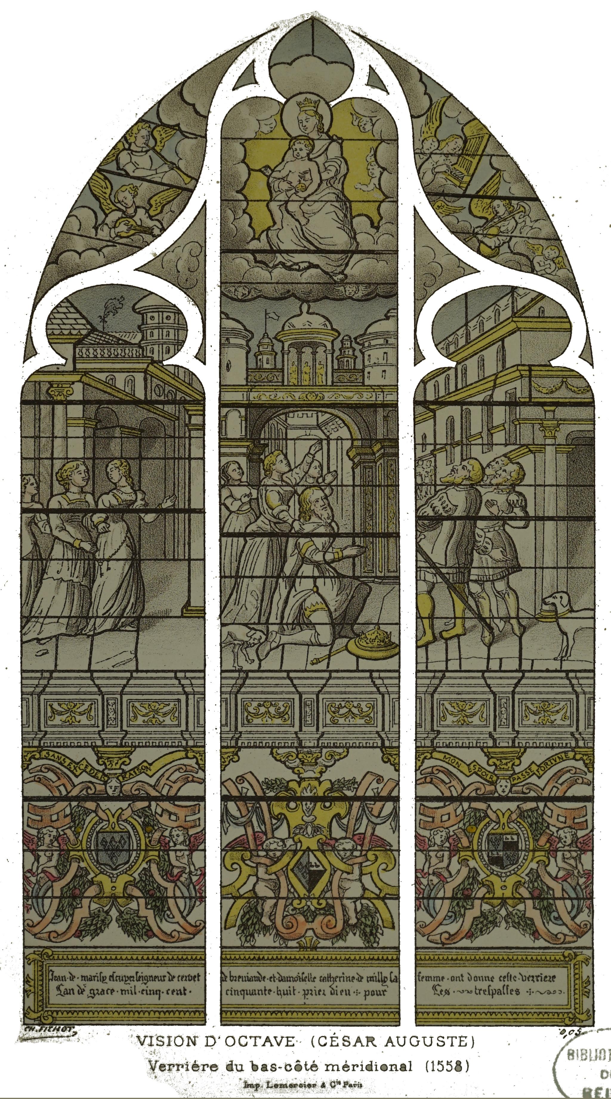 1558 jean de marisy et Catherine de Milly Saint_leger_les_troyes