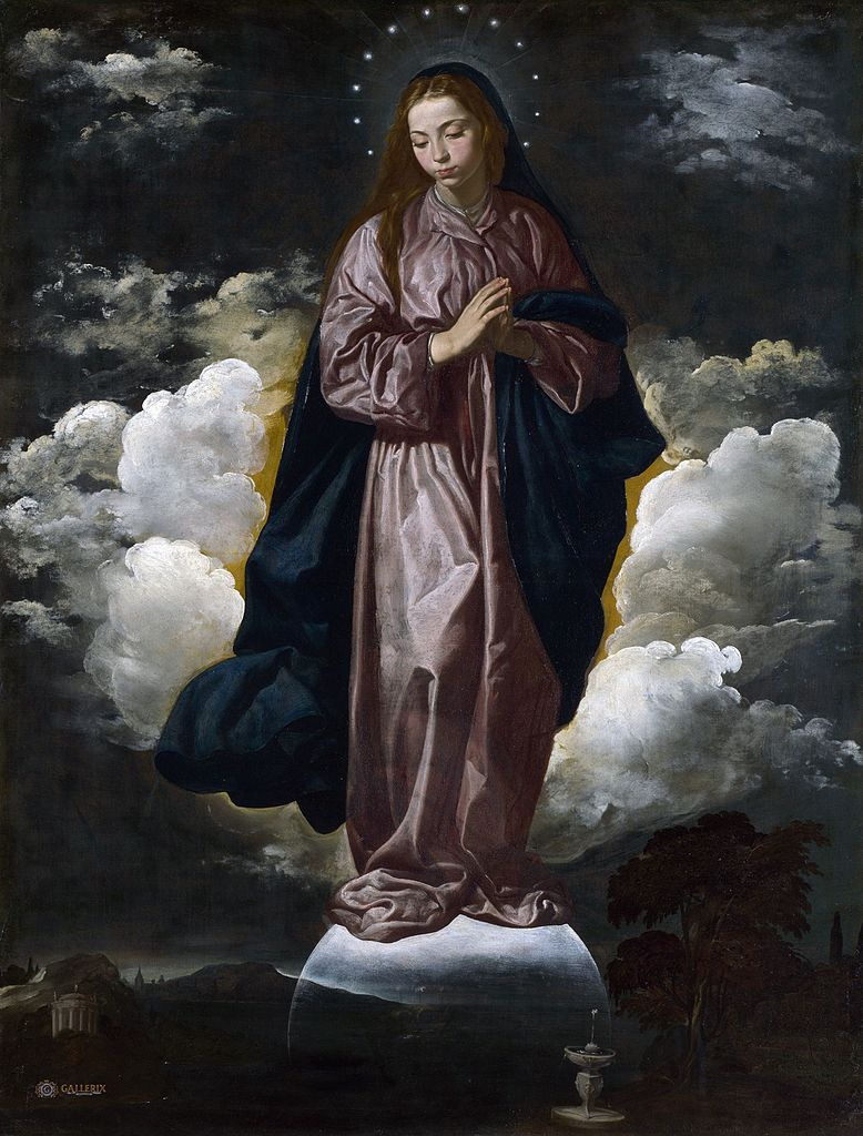 1618 Velasquez Immaculee conception National_Gallery, Londres