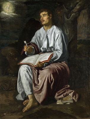 1618 Velasquez Saint Jean National_Gallery, Londres