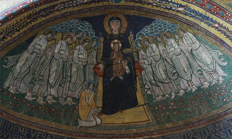 817-24 Pascal I santa maria in domnica roma