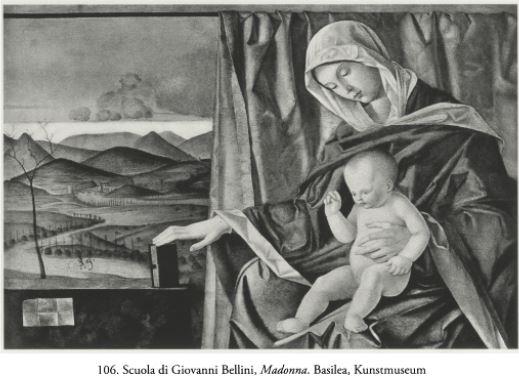 Bellini atelier Madonne avec un livre,Basilea
