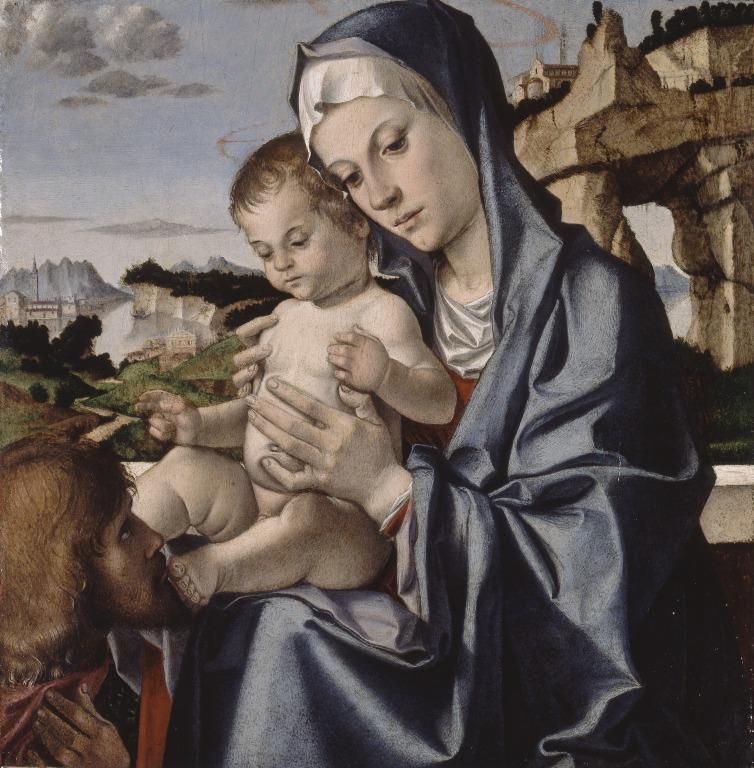 COPIE _VD 1483 Bartolomeo Montagna Walker Art Gallery Liverpool