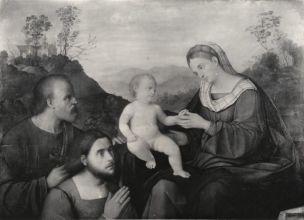_DJ 1490-1554 Bissolo Sacra Famiglia con donatore localisation inconnue