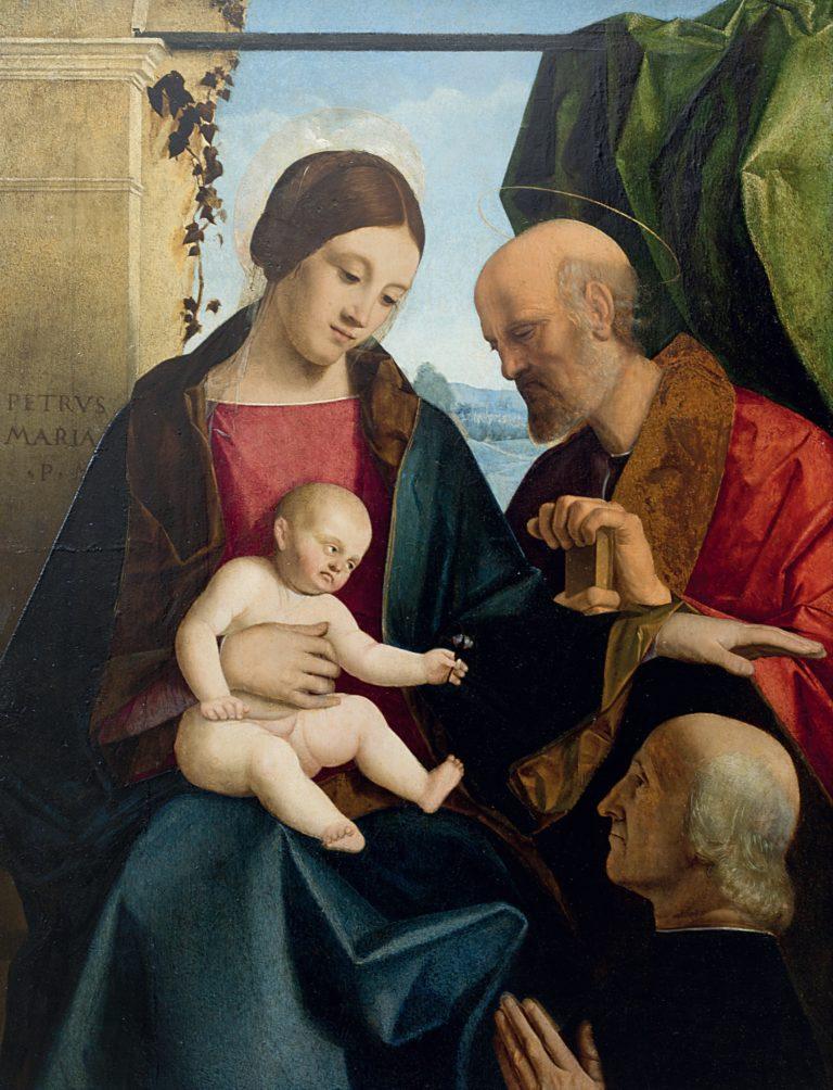 DJ 1500-15 Pier Maria Pennacchi. Sacra famiglia Museo civico BASSANO DEL GRAPPA