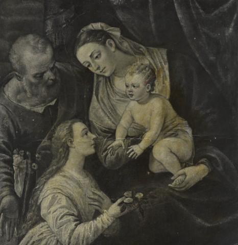 _DJ 1500-50 Anonimo veneziano Sacra Famiglia con donatrice loc inconnue