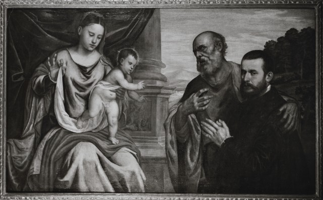DJ 1535-65 Polidoro de Renzi Sacra Famiglia Gemaldegalerie Berlin