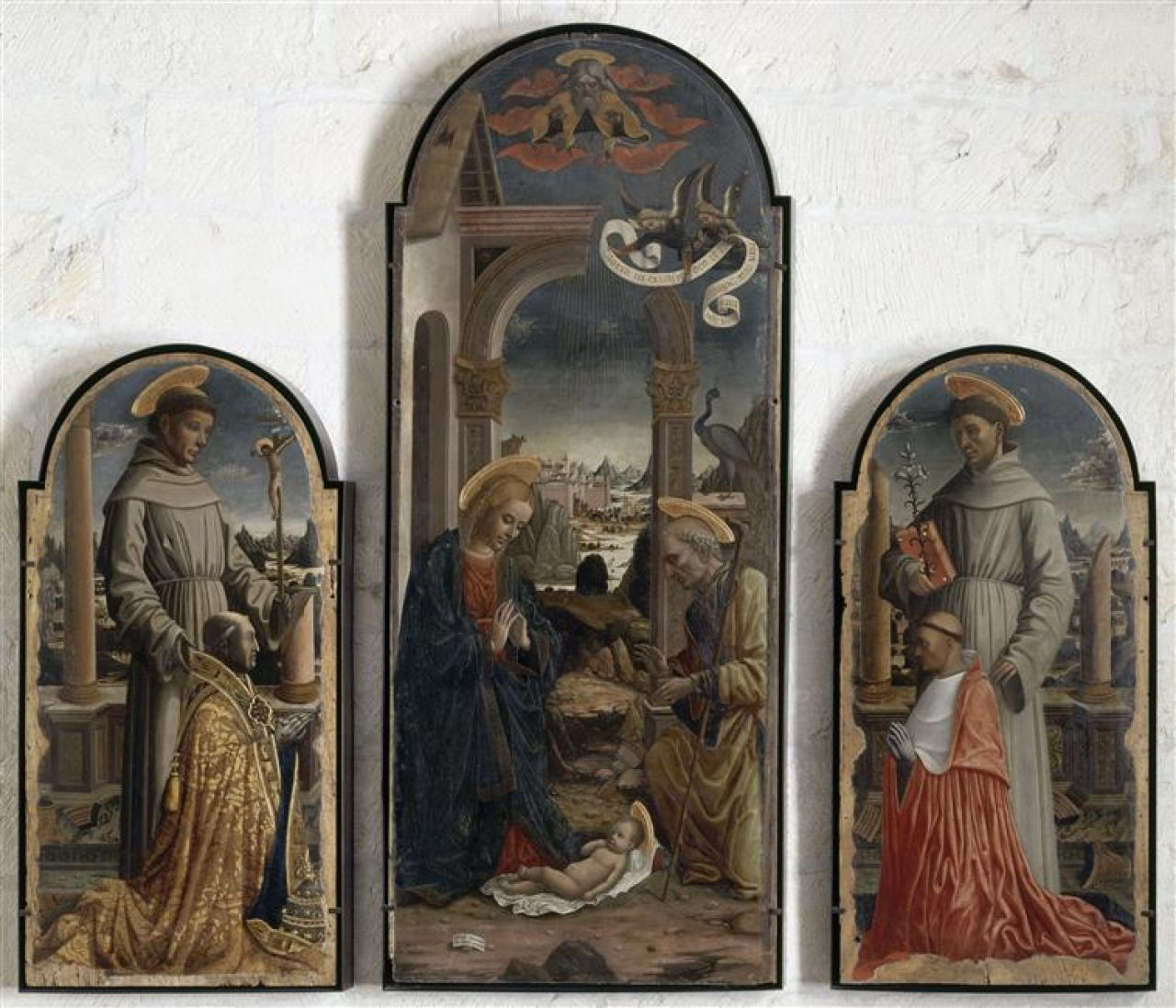 Giovanni Mazone Triptyque della Rovere Musee du Petit Palais Avignon