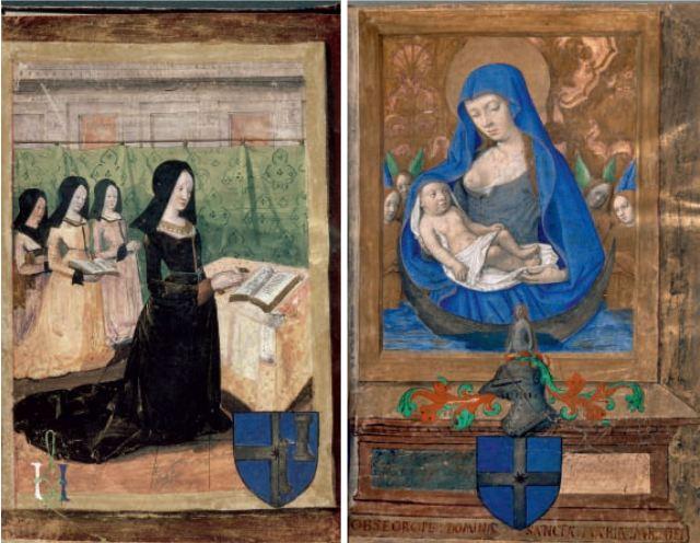 Heures a l'usage de Paris Maitre de la Chronique scandaleuse 1485-90 Palais des beaux-arts. Lille, Inv. A 203.fol 22 23