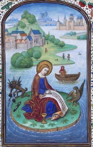 Libro de horas de Leonor de la Vega 1468 Biblioteca Nacional de Espana, Madrid fol 91