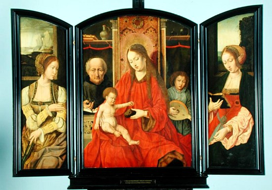 Triptych_Holy_Family_with_Saints_Catherine_and_Barbara_-_Kunsthalle_Hamburg