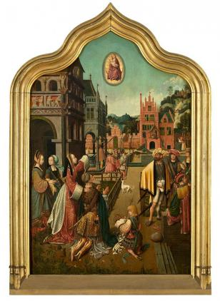 Mostaert Tiburtine Sibyl Royal Museum of Fine Arts Antwerp