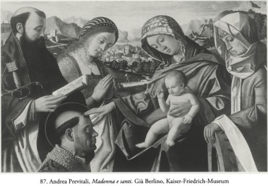 Previtali Saint Paul, Sainte Catherine anciennement Kaiser Frierdrich Museum