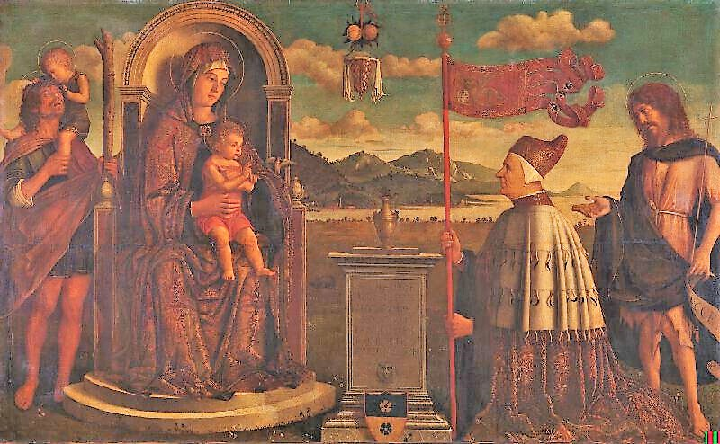 SVDS 1478-1485 Carpaccio attr Giovanni Mocenigo The National Gallery, London couleur