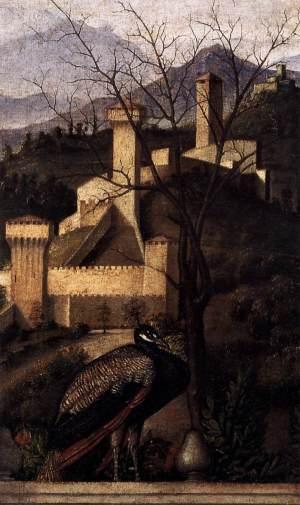 _SVDS 1488 Bellini Barbarigo_Altarpiece Chiesa di San Pietro Martire Murano detail
