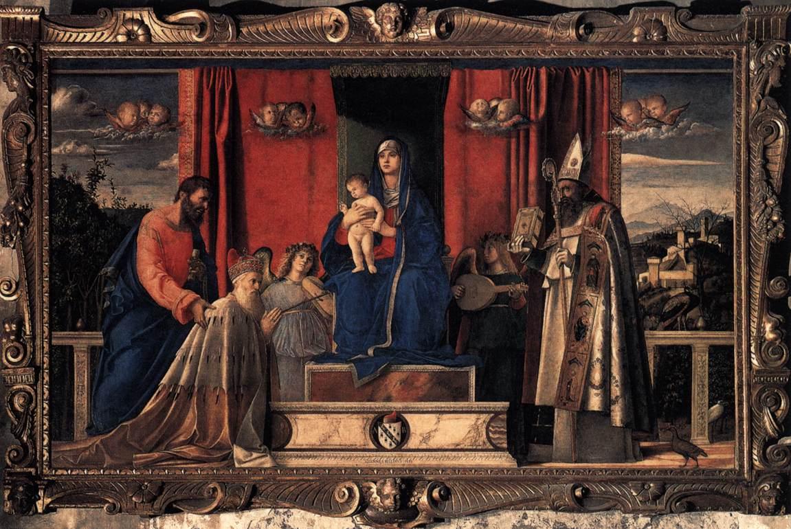 _SVDS 1488 Bellini Barbarigo_Altarpiece Chiesa di San Pietro Martire Murano-reduit