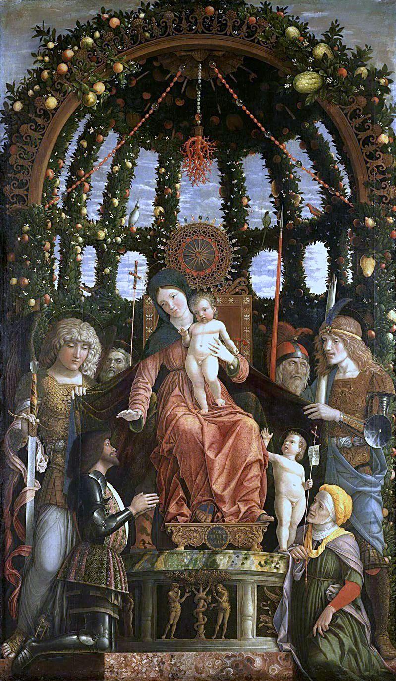 _SVDS 1494 Vierge de la Victoire Mantegna Louvre Paris