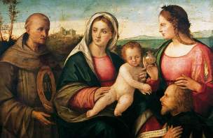 Bissolo, Francesco, c.1470-1554; Sacra conversazione