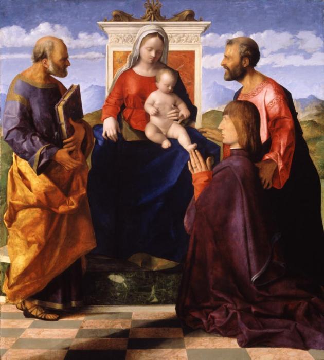 SVDS 1505 Bellini Giovanni et atelier donateur inconnu Birmingham Museums and Art Gallery