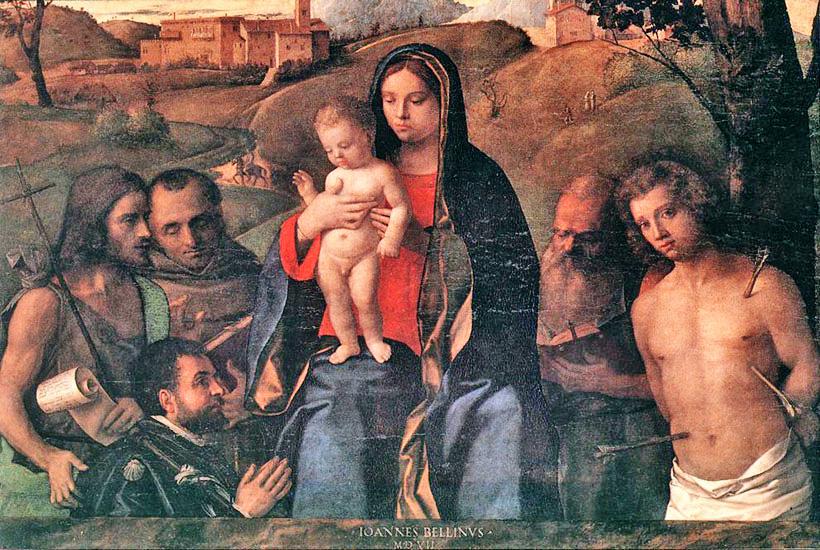 _SVDS 1507 Bellini Chiesa di San Francesco della Vigna, Venezia