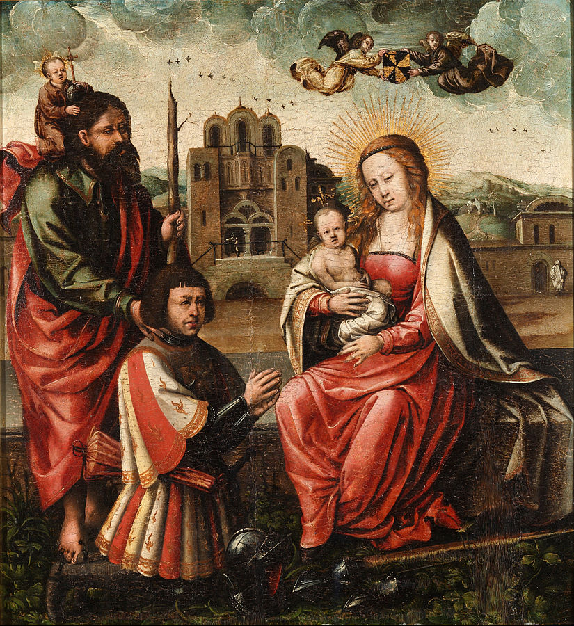 _VDS 1540 Anonyme The_Virgin_of_Cristobal_Colon