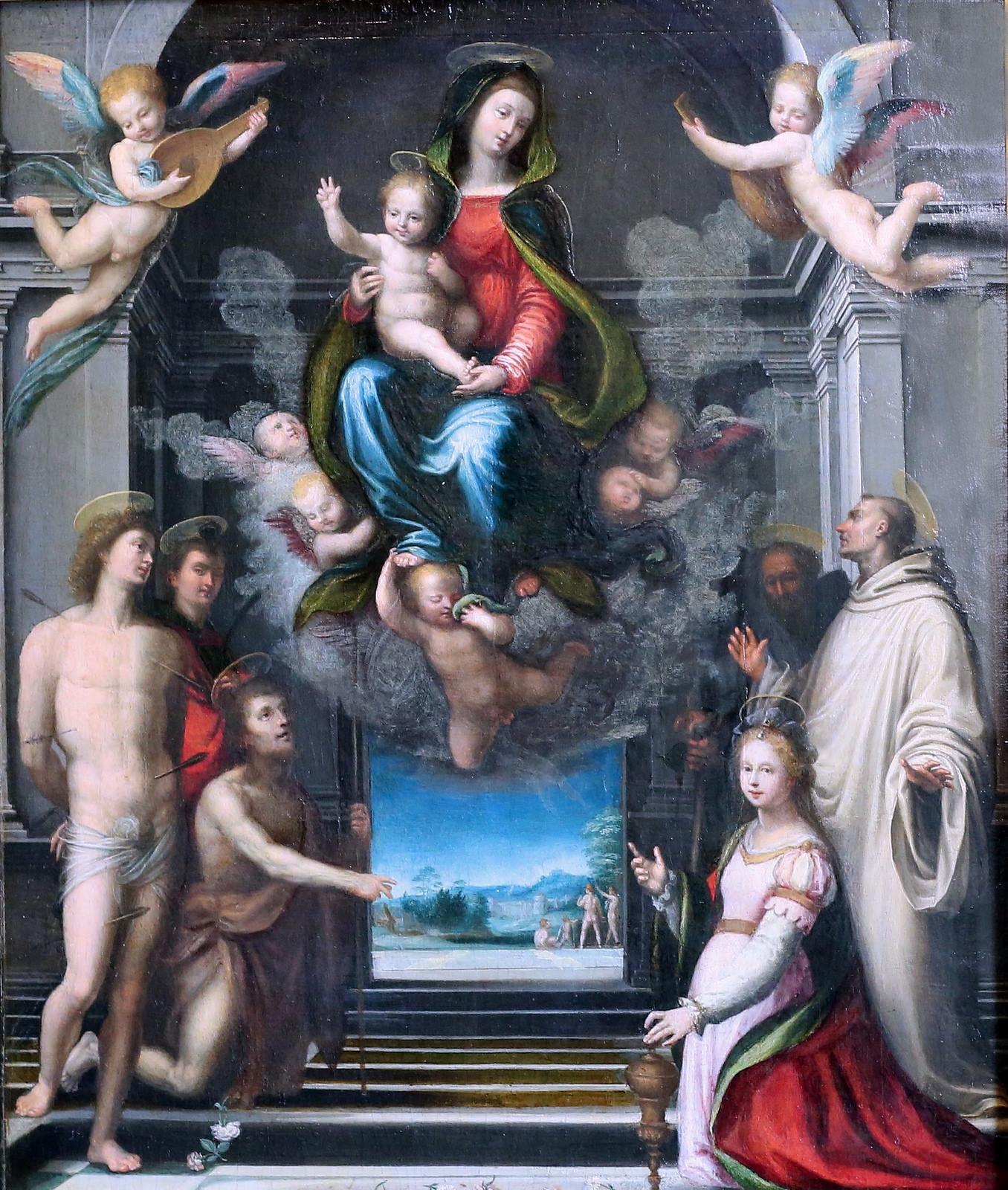 Vierge de Ferry Carondelet Musee Conde Chantilly