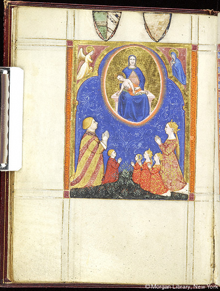 1246 apres Psalter-Hours of Guiluys de Boisleux France, Arras, Morgan Library MS M.730 fol. 17v