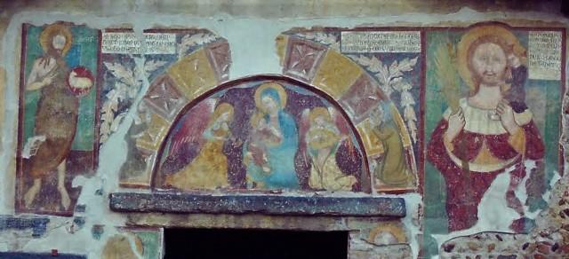 1359 Vierge Saint Christophe Bernard san Giovanni ai Campi piobesi torinese