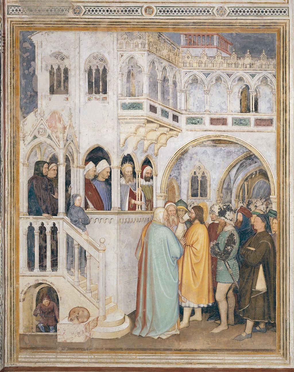1377-79 Altichiero,_oratorio_di_san_giorgio, Saint Georges boit le venin