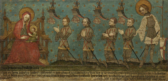 1400 ca Memorial des seigneurs de Montfoort