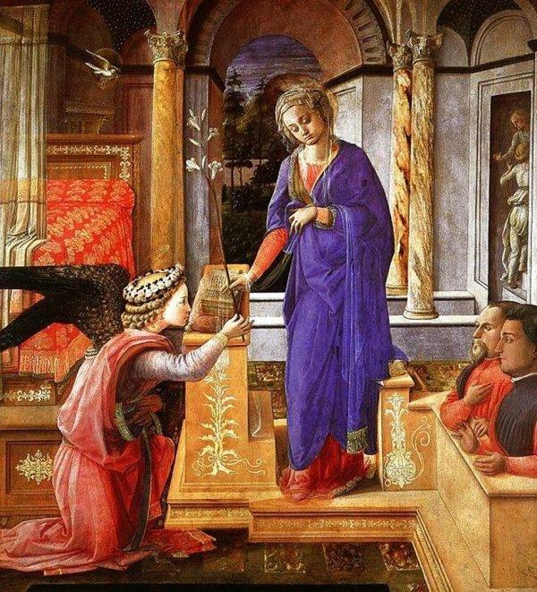 1435 Fra Filippo Lippi Galerie nationale d'art ancien, Palazzo Barberini Rome