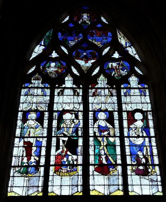 1450-75 Chapelle Saint Michel Eglise de Caudebec